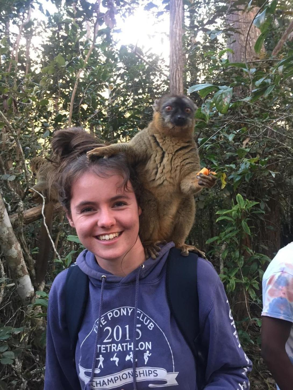 Poppy B in Madagascar